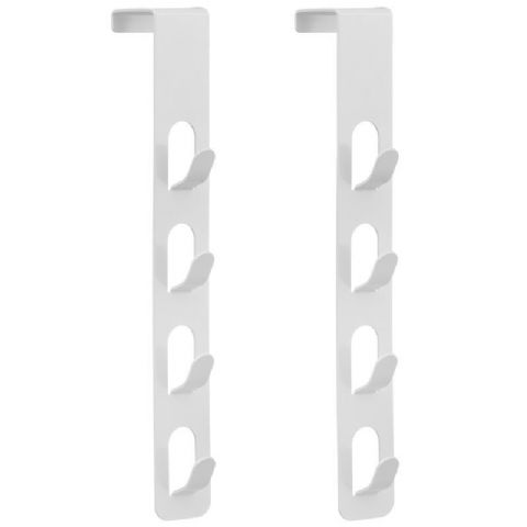Multiple Overdoor Hook White